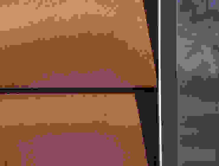 Corten Steel Detail Стены и пол в стиле лофт от Facit Homes Лофт