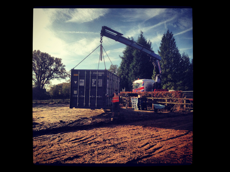 On Site Manufacturing Delivery Facit Homes