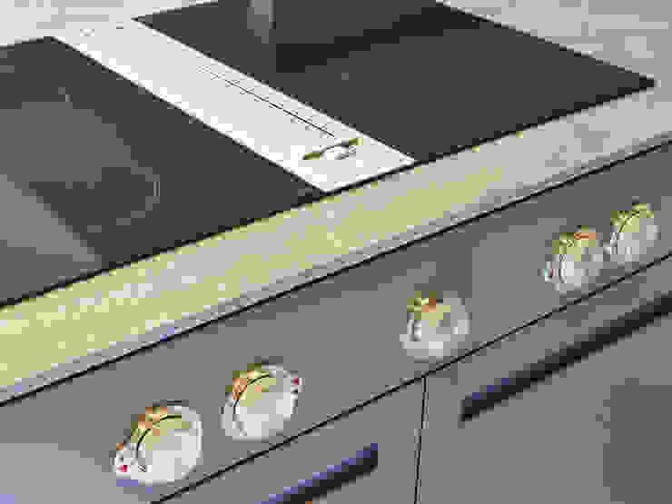 Bespoke Kitchen manufactured in House Minimalist kitchen by Facit Homes Minimalist
