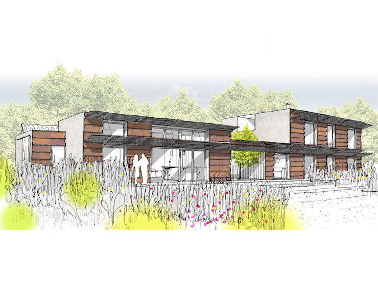 Concept Sketch by Facit Homes