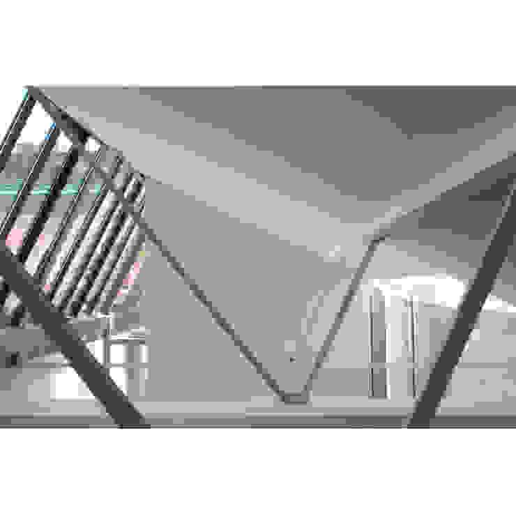 Loft in zona Savona a Milano Pareti & Pavimenti in stile moderno di Studio fase Moderno