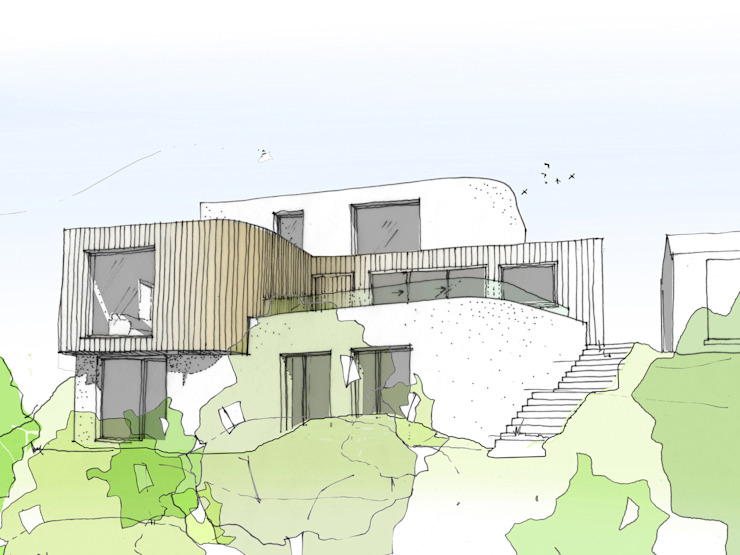 Concept Sketch de Facit Homes