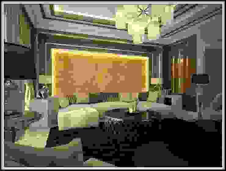 Дизайн-проект гостиной от PLAN