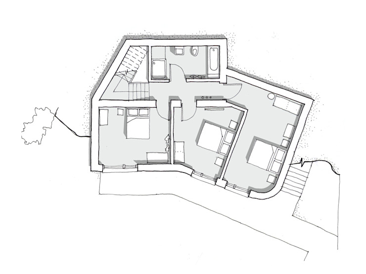 Lower Ground Floor Plan Oleh Facit Homes