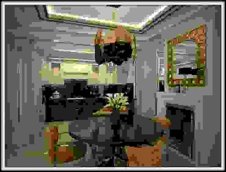 Дизайн-проект гостиной, столовая зона от PLAN