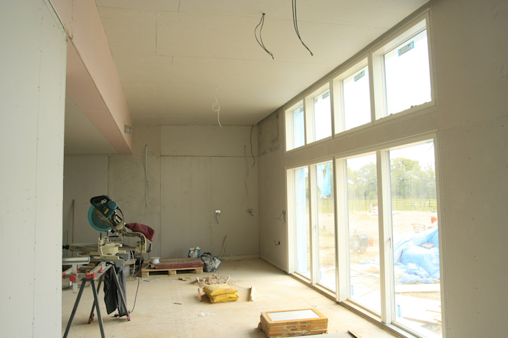 Interior Nearing Completion Facit Homes