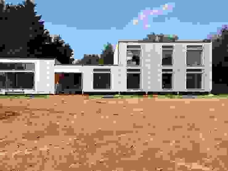 Exterior ready for cladding Facit Homes