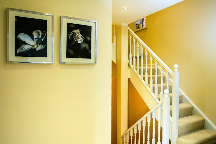 Hallway, Stairs Modern corridor, hallway & stairs by Lujansphotography Modern