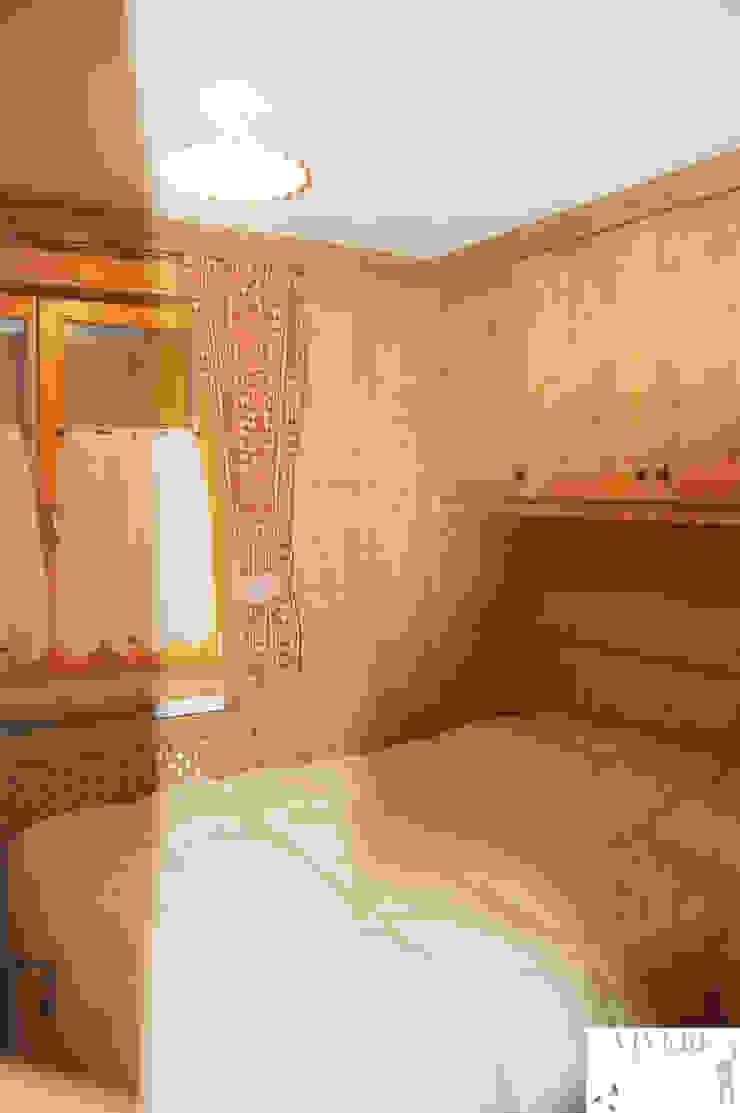 Camera da letto ospiti Camera da letto in stile rustico di Arredamenti Brigadoi Rustico
