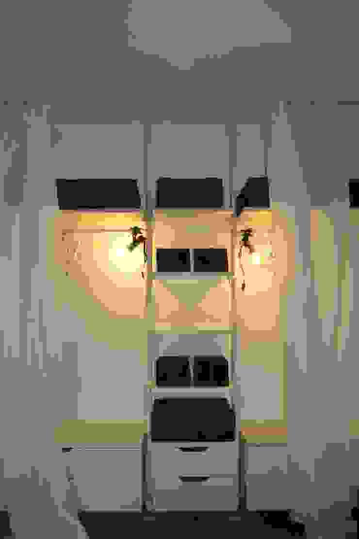 Armadio Camera da letto minimalista di LUTOPIE Luisa Bernasconi Minimalista