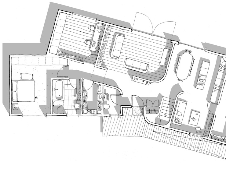 Ground Floor Plan von Facit Homes