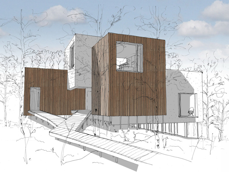 Design Proposal 1 Casas modernas de Facit Homes Moderno