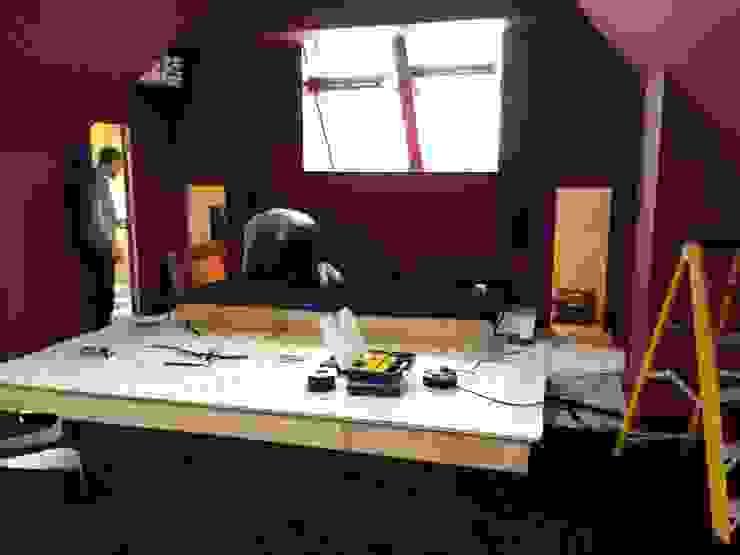 Carpet going down Designer Vision and Sound