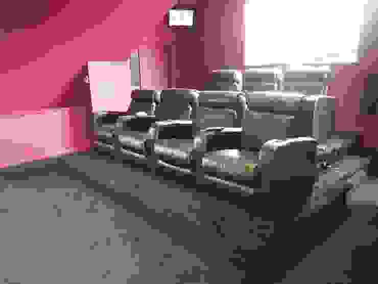 Loft Cinema Room in London Designer Vision and Sound