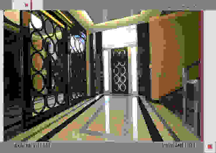 MILLENIUMPARK VILLA SI Modern Koridor, Hol & Merdivenler Nar İç Mimarlık Modern