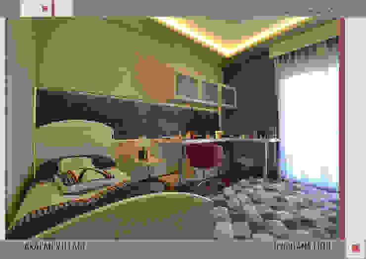 MILLENIUMPARK VILLA SI Modern Yatak Odası Nar İç Mimarlık Modern
