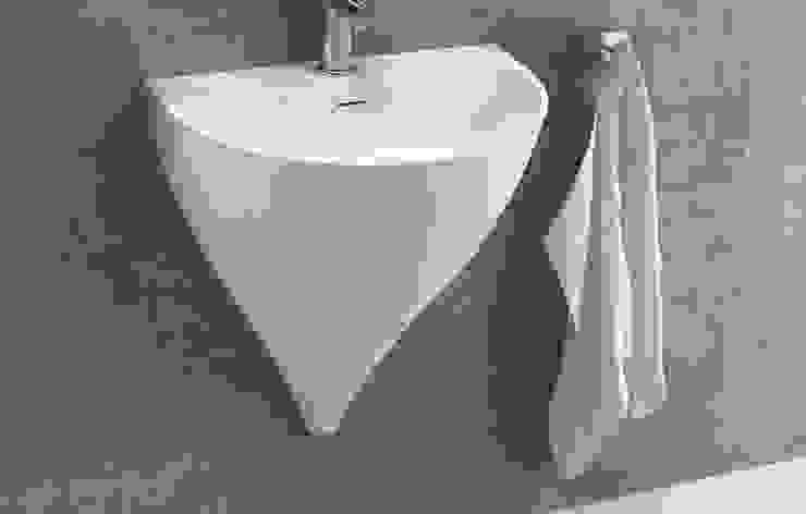 Nuevo lavabo Kaliya diseñado por Vicent Clausell para la firma Sanycces. de Clausell Studio Minimalista