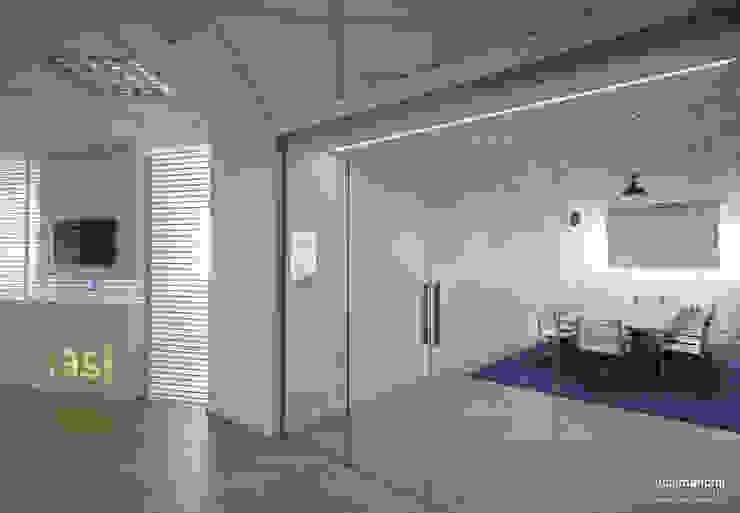 Ufficio direzionale Complesso d'uffici moderni di Luca Mancini | Architetto Moderno