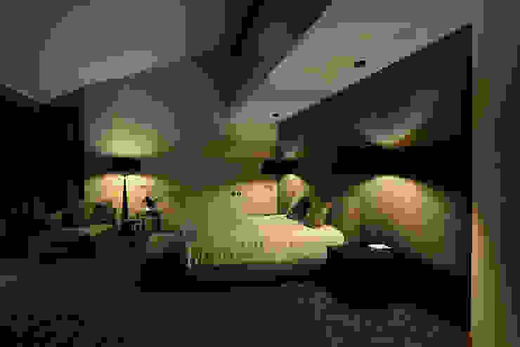 Nature and modern life Спальня в стиле модерн от Omela Модерн
