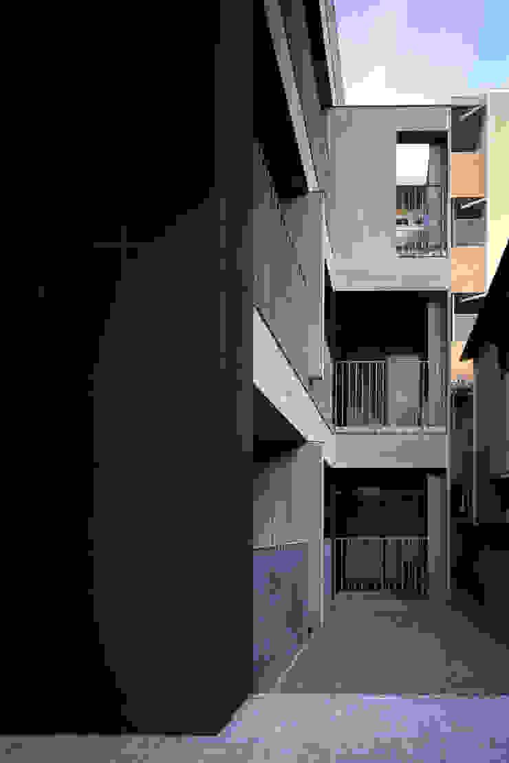 南側の庭 モダンな庭 の 濱嵜良実+株式会社 浜﨑工務店一級建築士事務所 モダン