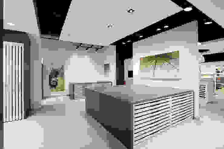 Showroom Bergmann Wien - i controsoffitti Negozi & Locali commerciali in stile minimalista di Foschi & Nolletti Architetti Minimalista