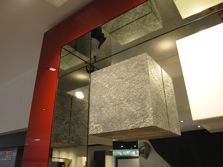Showroom Bergmann Wien - particolare Negozi & Locali commerciali in stile minimalista di Foschi & Nolletti Architetti Minimalista