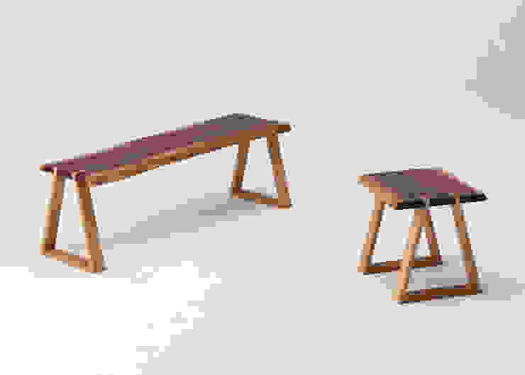 mimi stool+mimi bench: Koizumi Studioが手掛けたミニマリストです。,ミニマル