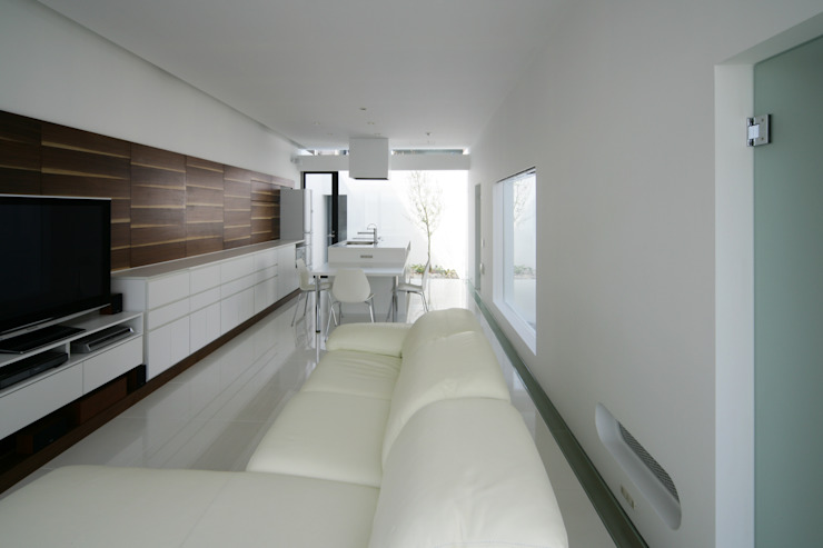 House in Ako ミニマルデザインの リビング の 設計組織DNA ミニマル