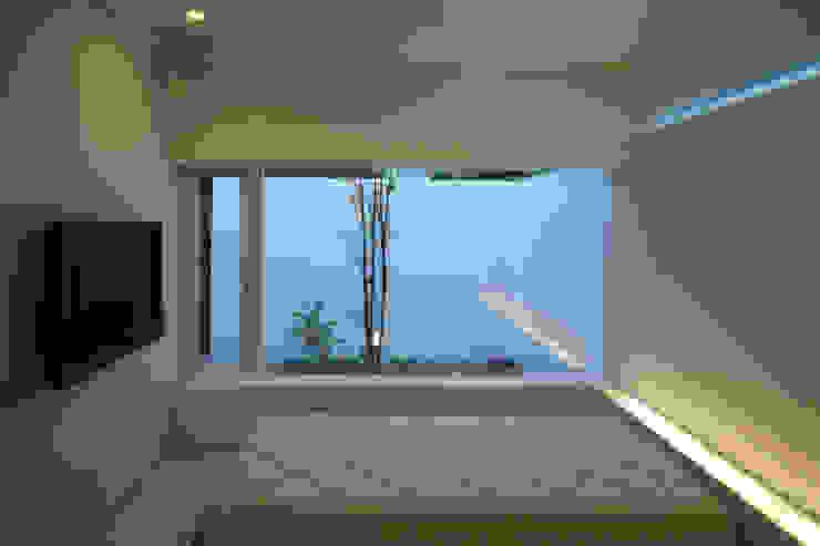 House in Ako ミニマルスタイルの 寝室 の 設計組織DNA ミニマル