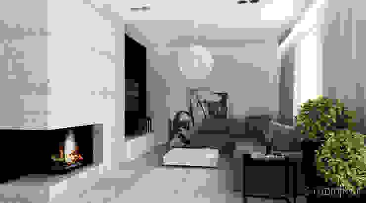 Salas / recibidores de estilo  por STUDIO MAC,
