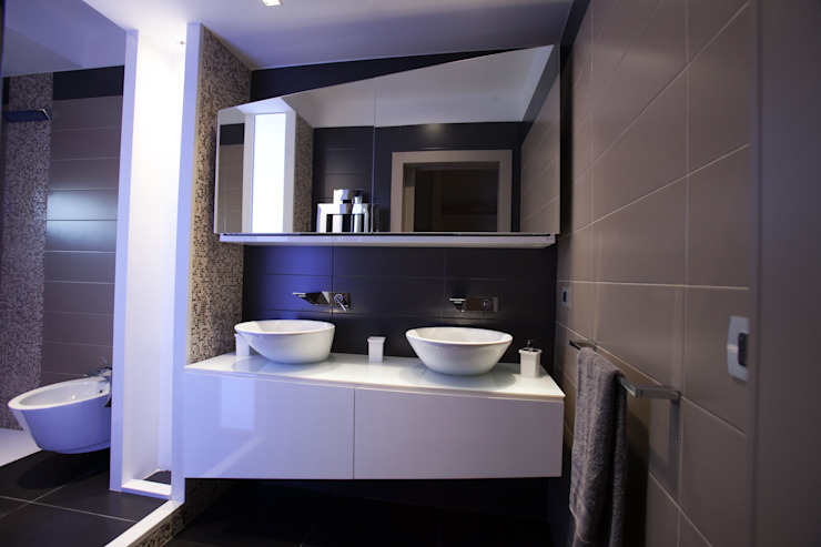 Architetto del Piano Modern bathroom