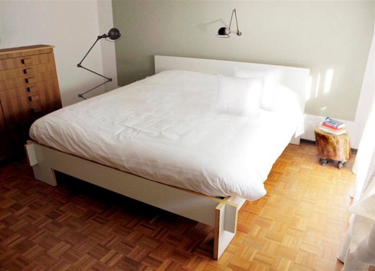 FattoreQ fabbrica Eclectic style bedroom