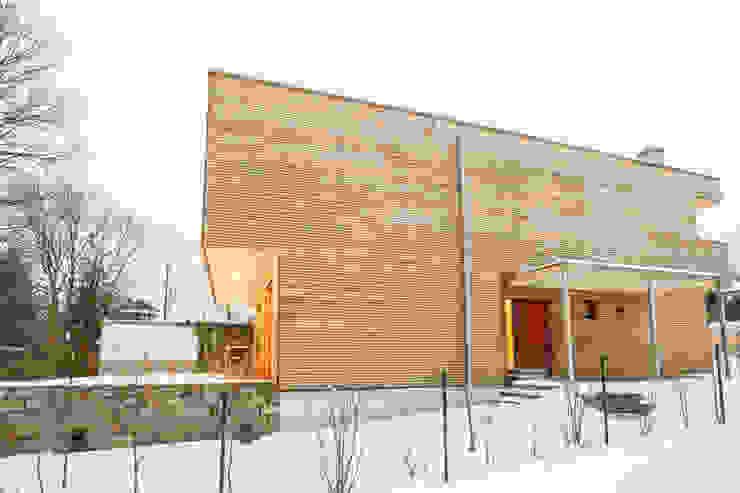 Holzhaus in Erlenstegen Jenohr + Mezger Moderne Häuser