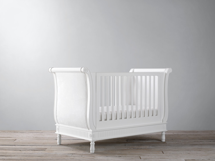 Belle Sleigh Cot Bed: classic  by Custard & Crumble, Classic
