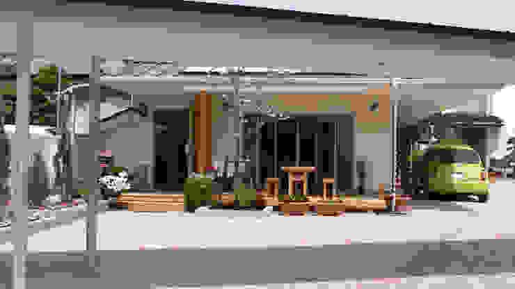 外観: MOW Architect & Associatesが手掛けた現代のです。,モダン