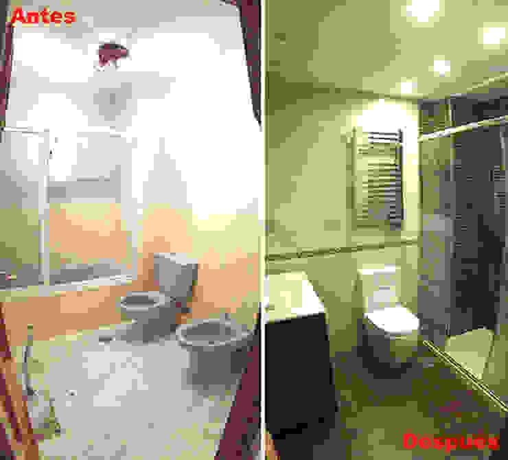 Bagno moderno di AtelierBas. Arquitectura y Construcción Moderno