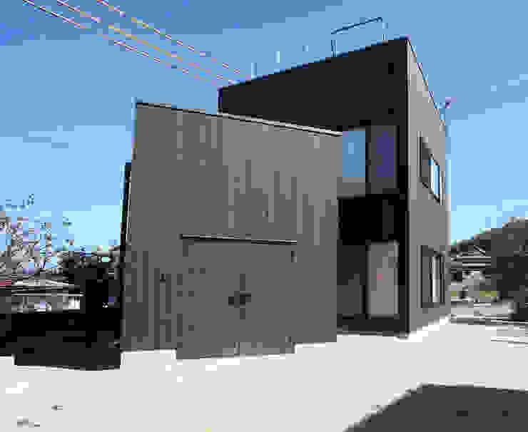 外観: 長井建築設計室が手掛けた家です。,ミニマル