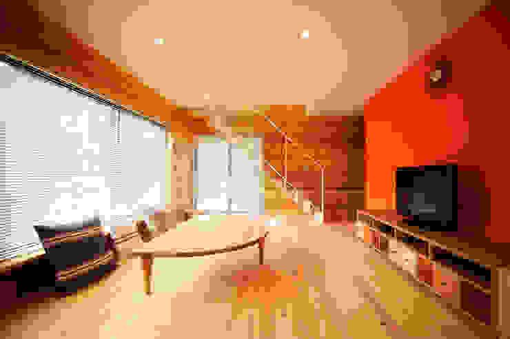 リビング: 長井建築設計室が手掛けたリビングです。,ミニマル