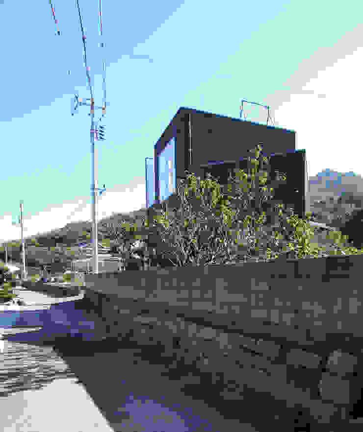 外観 ミニマルな 家 の 長井建築設計室 ミニマル