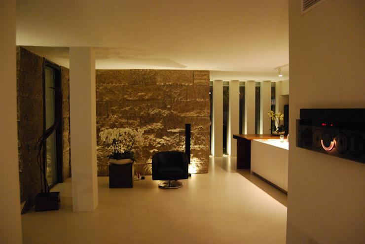 Cocina comedor Casas modernas de saz arquitectos Moderno