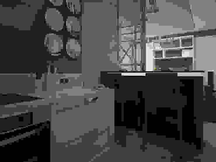 Dubrava Кухни в эклектичном стиле от Alfia Ilkiv Interior Designer Эклектичный