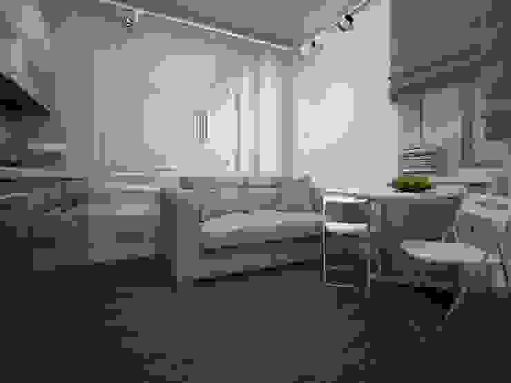 에클레틱 거실 by Alfia Ilkiv Interior Designer 에클레틱 (Eclectic)