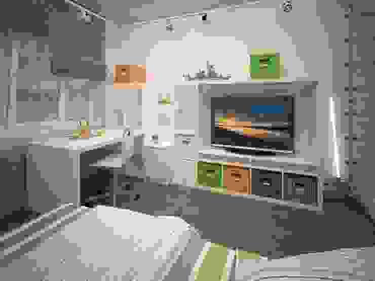 Izumrudniye Kholmy Детские комната в эклектичном стиле от Alfia Ilkiv Interior Designer Эклектичный