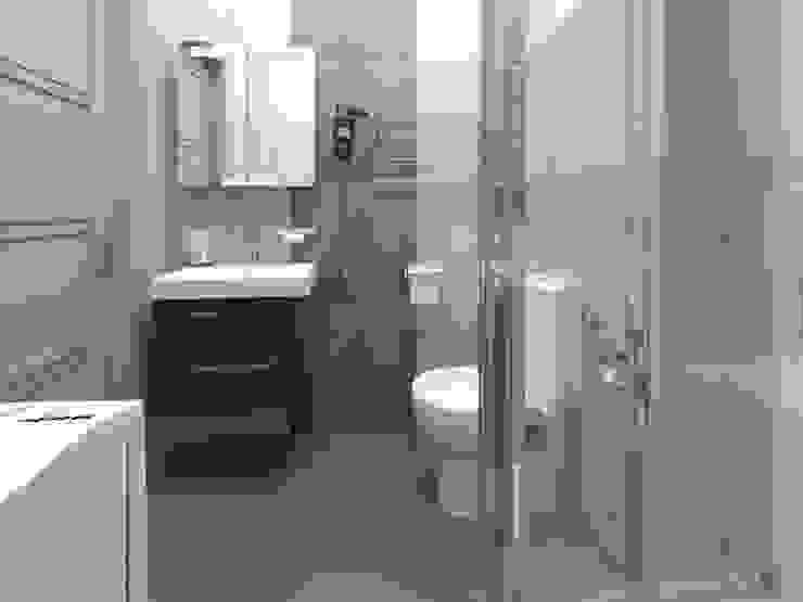 Izumrudniye Kholmy Ванная комната в эклектичном стиле от Alfia Ilkiv Interior Designer Эклектичный