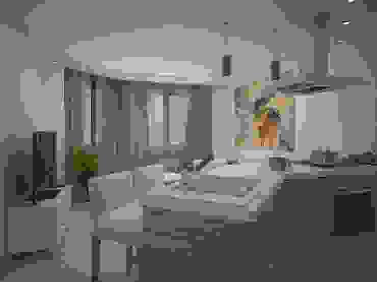 Balashikha Гостиные в эклектичном стиле от Alfia Ilkiv Interior Designer Эклектичный