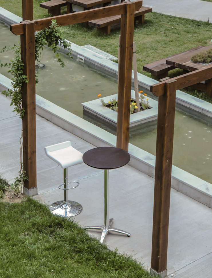 BOSPHORUS CITY, RESIDENCE Modern Bahçe 5A Design Modern