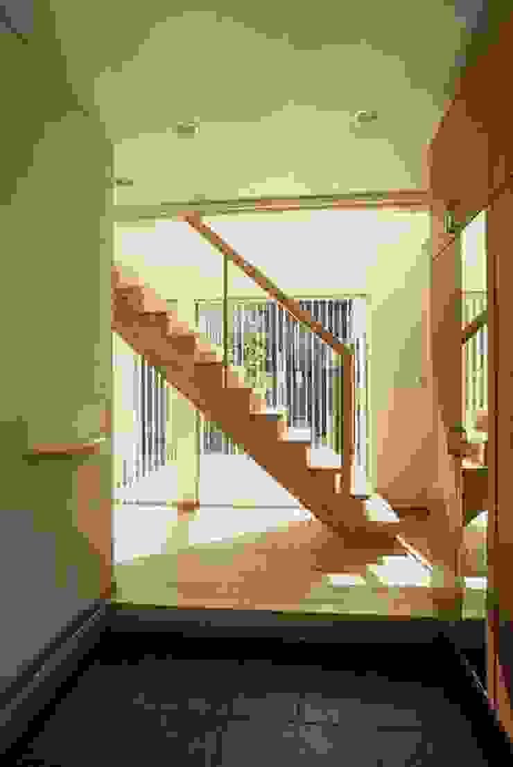 階段ホール モダンスタイルの 玄関&廊下&階段 の SD モダン