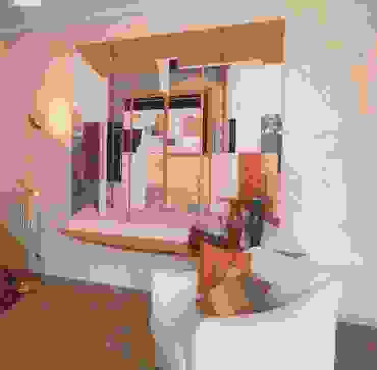 Living-room, dettaglio Soggiorno moderno di Studio Mingaia Moderno