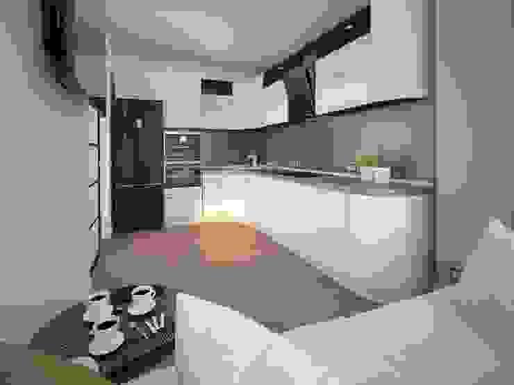 Pavshino Кухни в эклектичном стиле от Alfia Ilkiv Interior Designer Эклектичный