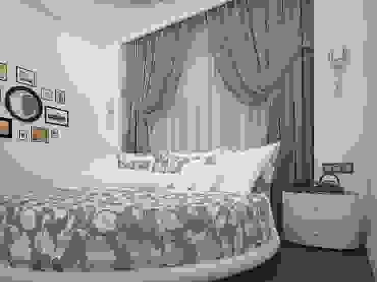 Pavshino Спальня в эклектичном стиле от Alfia Ilkiv Interior Designer Эклектичный